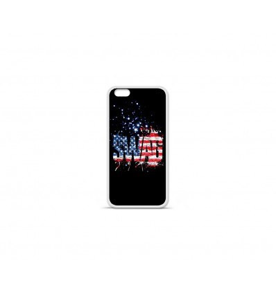 Coque en silicone Apple IPhone 7 Plus - Swag usa