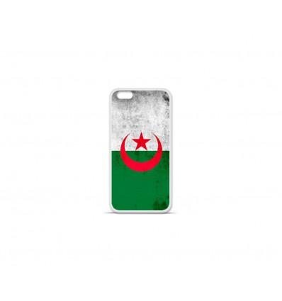 Coque en silicone Apple IPhone 7 Plus - Drapeau Algérie