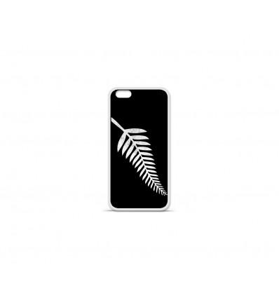 Coque en silicone Apple IPhone 7 Plus - Drapeau All-black