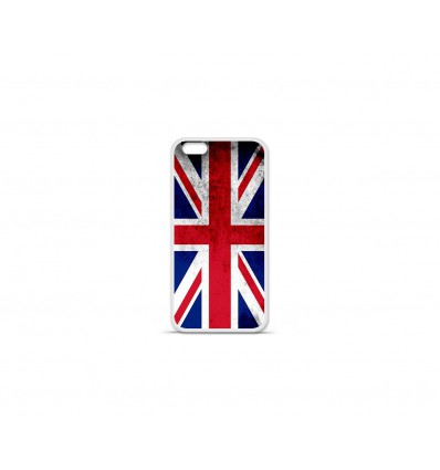 Coque en silicone Apple IPhone 7 Plus - Drapeau Angleterre