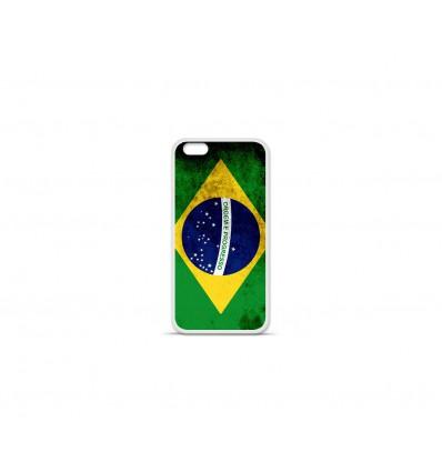 Coque en silicone Apple IPhone 7 Plus - Drapeau Brésil