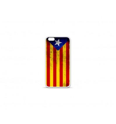 Coque en silicone Apple IPhone 7 Plus - Drapeau Catalogne