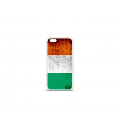 Coque en silicone Apple IPhone 7 Plus - Drapeau Côte-d'ivoire