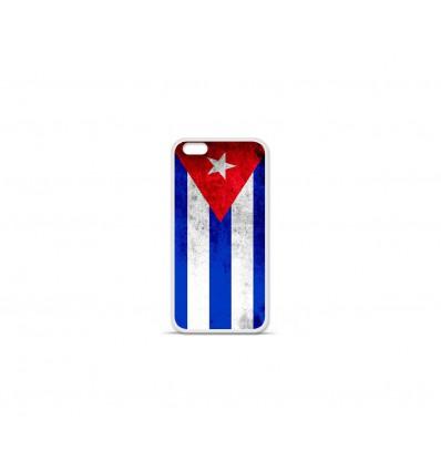 Coque en silicone Apple IPhone 7 Plus - Drapeau Cuba