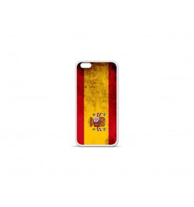 Coque en silicone Apple IPhone 7 Plus - Drapeau Espagne