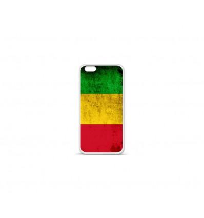 Coque en silicone Apple IPhone 7 Plus - Drapeau Mali