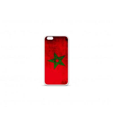 Coque en silicone Apple IPhone 7 Plus - Drapeau Maroc