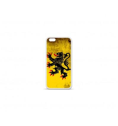 Coque en silicone Apple IPhone 7 Plus - Drapeau Nord
