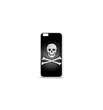 Coque en silicone Apple IPhone 7 Plus - Drapeau Pirate
