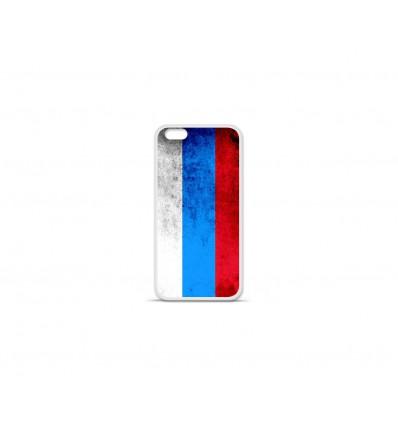 Coque en silicone Apple IPhone 7 Plus - Drapeau Russie