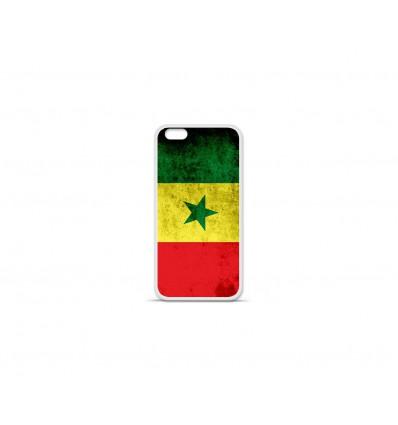 Coque en silicone Apple IPhone 7 Plus - Drapeau Sénégal