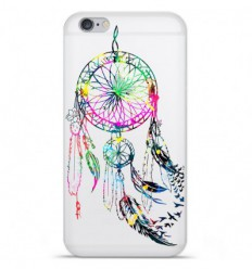 Coque en silicone Apple IPhone 7 Plus - Dreamcatcher Gris