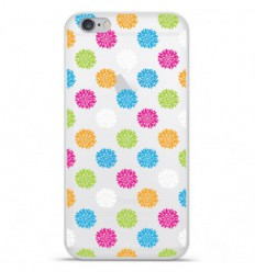 Coque en silicone Apple IPhone 7 Plus - Floral