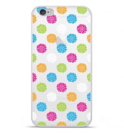 Coque en silicone Apple IPhone 7 Plus - Floral
