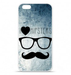 Coque en silicone Apple IPhone 7 Plus - I Love Hipster