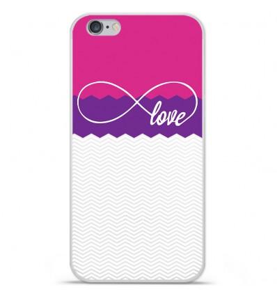Coque en silicone Apple IPhone 7 Plus - Love Rose