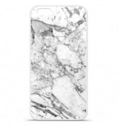 Coque en silicone Apple IPhone 7 Plus - Marbre Blanc