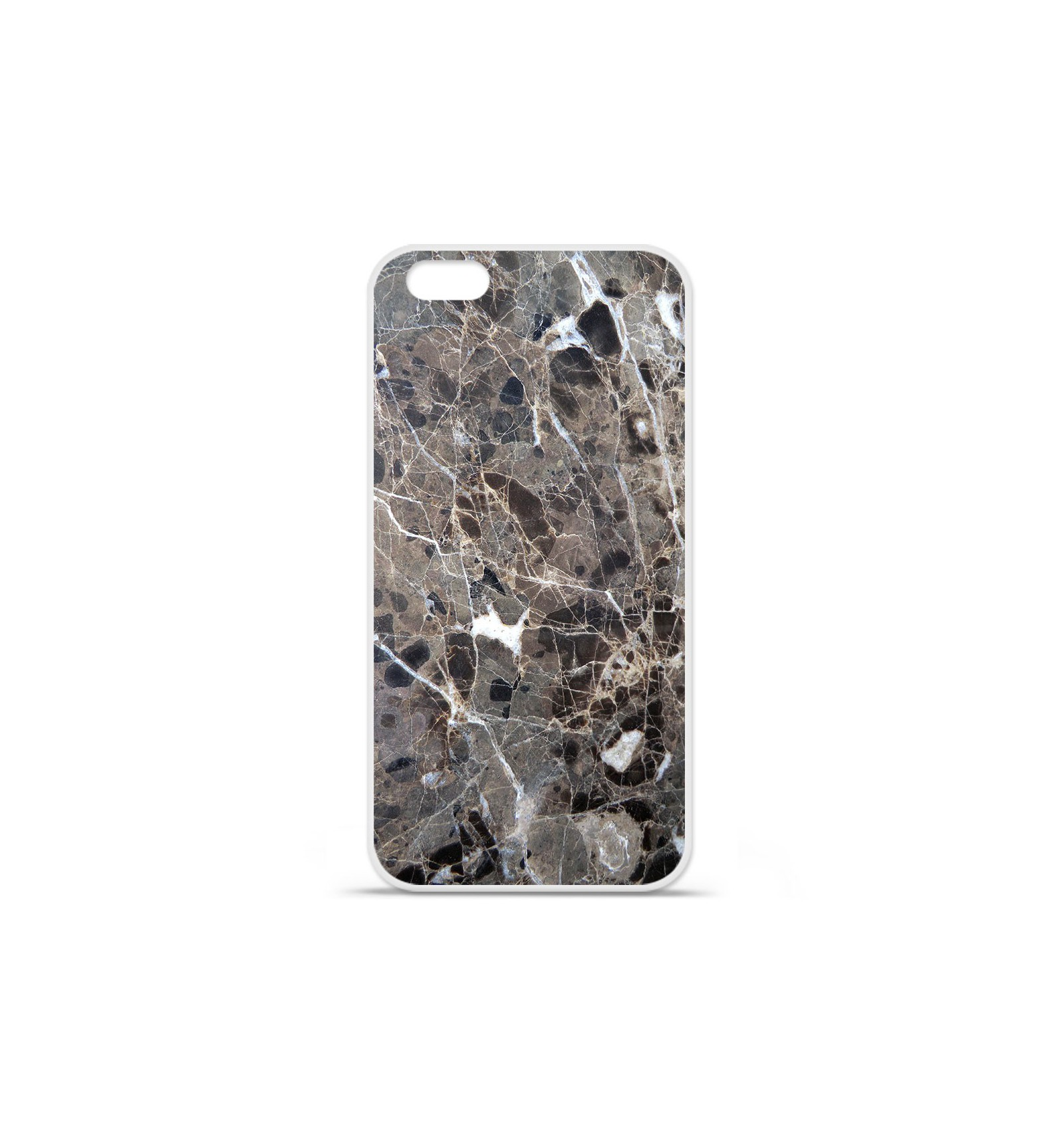 coque silicone iphone 7 marbre