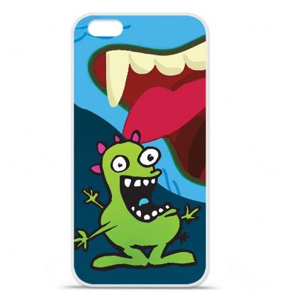 Coque en silicone Apple IPhone 7 Plus - Happy Monster