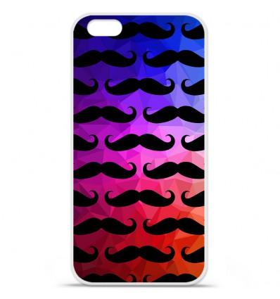Coque en silicone Apple IPhone 7 Plus - Moustache