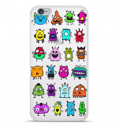 Coque en silicone Apple IPhone 7 Plus - Alien
