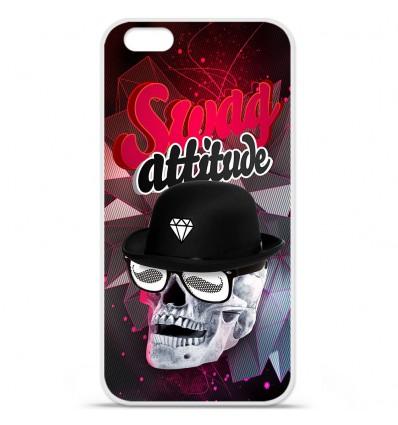 Coque en silicone Apple IPhone 7 Plus - Swag Hipster Attitude