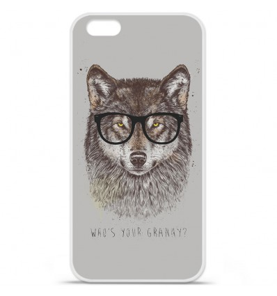 Coque en silicone Apple IPhone 7 Plus - BS Granny