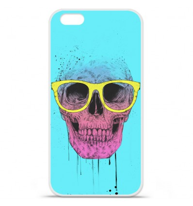 Coque en silicone Apple IPhone 7 Plus - BS Skull glasses
