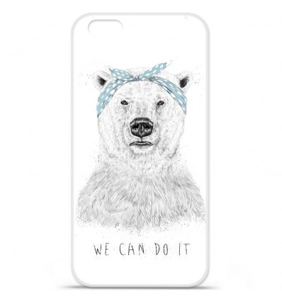 Coque en silicone Apple IPhone 7 Plus - BS We can do it