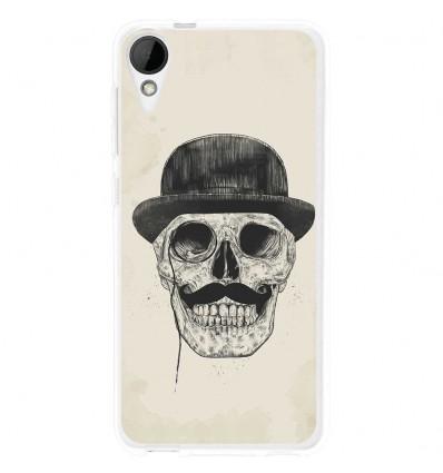 Coque en silicone HTC Desire 825 - BS Class skull
