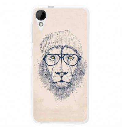 Coque en silicone HTC Desire 825 - BS Cool Lion