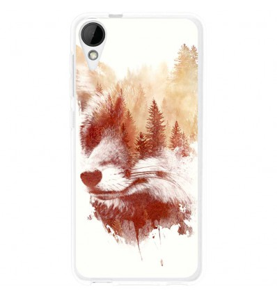 Coque en silicone HTC Desire 825 - RF Blind Fox