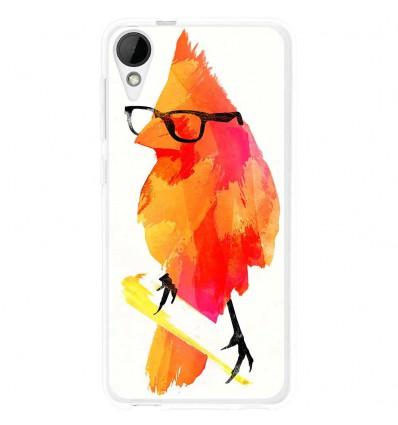 Coque en silicone HTC Desire 825 - Robert Farkas (Punk Birdy)