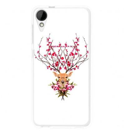 Coque en silicone HTC Desire 825 - RF Spring deer