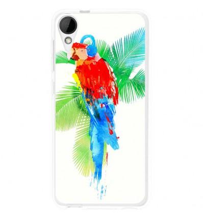 Coque en silicone HTC Desire 825 - Robert Farkas (Tropical party)