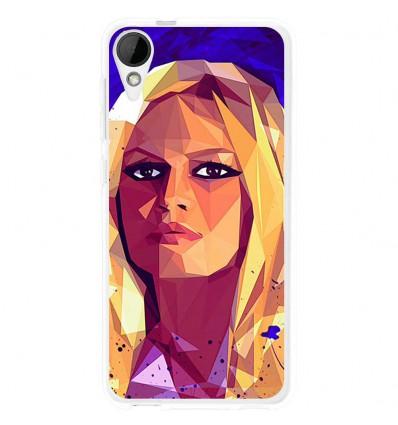 Coque en silicone HTC Desire 825 - Mayka Lenova (Brigitte)