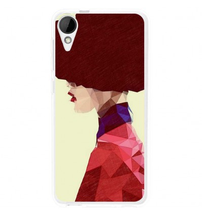 Coque en silicone HTC Desire 825 - ML Chic Hat