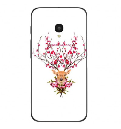 "Coque en silicone Alcatel One Touch Pixi 4 5"" - RF Spring deer"