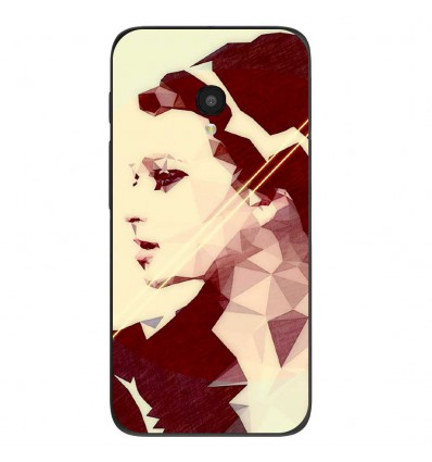 "Coque en silicone Alcatel One Touch Pixi 4 5"" - ML Chic Mood"