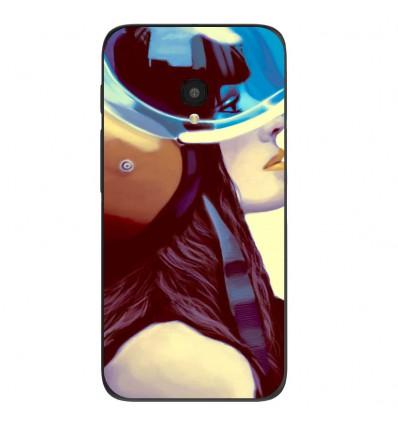 "Coque en silicone Alcatel One Touch Pixi 4 5"" - ML Helmetraus"