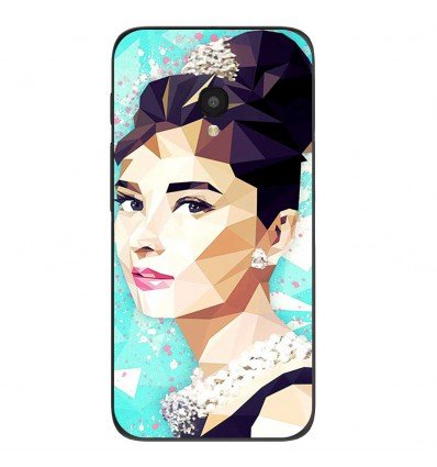 "Coque en silicone Alcatel One Touch Pixi 4 5"" - ML Hepburn"