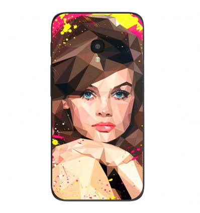 """Coque en silicone Alcatel One Touch Pixi 4 5"""" - ML Vogue Muse"""