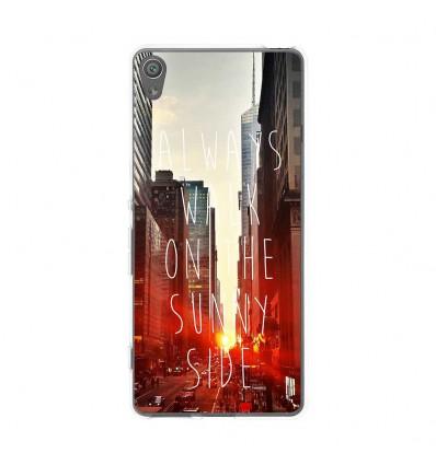 Coque en silicone Sony Xperia XA - Sunny side
