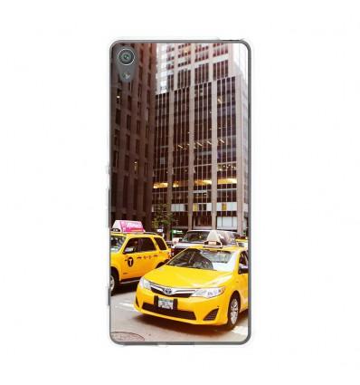 Coque en silicone Sony Xperia XA - NY Taxi