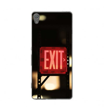 Coque en silicone Sony Xperia XA - Retro Exit