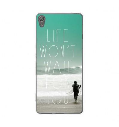 Coque en silicone Sony Xperia XA - Surfer