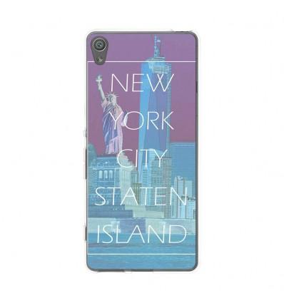 Coque en silicone Sony Xperia XA - New york