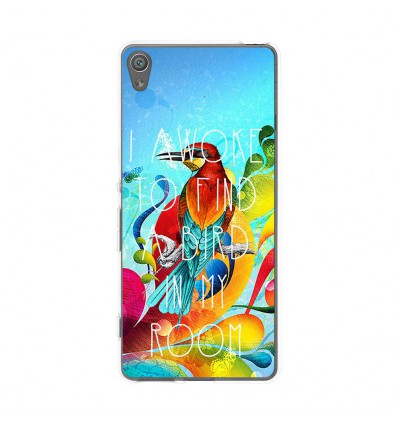 Coque en silicone Sony Xperia XA - Mocking bird