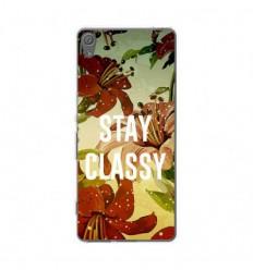 Coque en silicone Sony Xperia XA - Stay classy