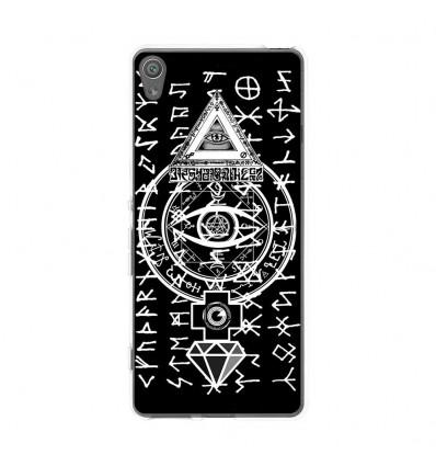 Coque en silicone Sony Xperia XA - SymbolesIlluminati